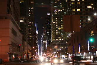Photo: Looking east along 42nd Street.