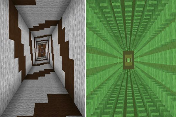 Dropper Easter map for MCPE - screenshot