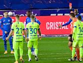 Tweede rode kaart in minder dan een week tijd voor Genk-verdediger Carlos Cuesta, die topper tegen Club Brugge mist