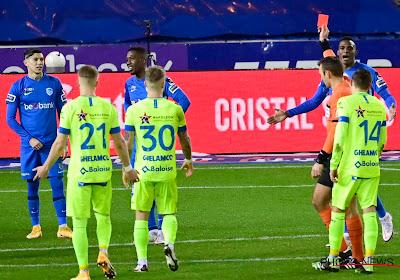 Tweede rode kaart in minder dan een week tijd voor Genk-verdediger Carlos Cuesta
