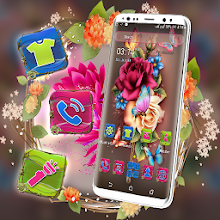 Rose Butterfly Launcher Theme Download on Windows