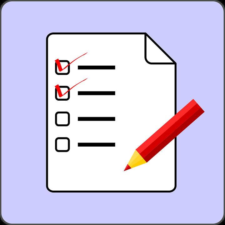 免费矢量图: 检查列表, 列表, 考试, 测试, 复选标记, 刻度线- Pixabay ...