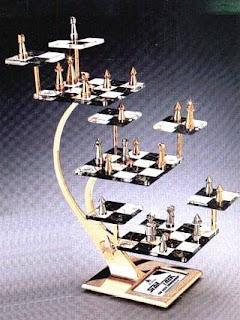 Star Trek The Next Generation 3d Chess Set Carolus Chess