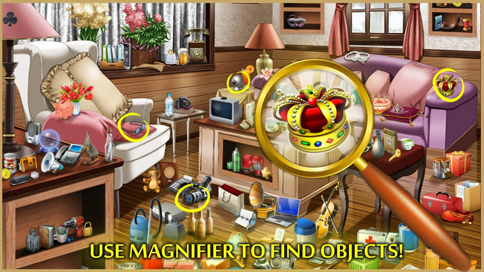 Hidden Objects Adventure House Screenshot