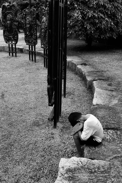 """Photo: """"Far From Over""""  While recent developments claimed a 'victory' for the Filipino people with the impeachment of the country's Supreme Court justice, it is very important to note that this is all for naught if we fail to learn from history's lessons as well as to correct our very short collective memory.  We tend to celebrate, then forget, then eventually fall into disarray once again.   What we need to do is celebrate and remember and be vigilant.  Always.  I can only hope and pray...   ."""