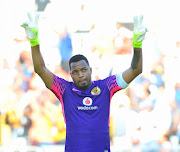 Itumeleng Khune of Kaizer Chiefs during the Absa Premiership match between Baroka FC and Kaizer Chiefs at Peter Mokaba Stadium on January 21, 2018 in Polokwane, South Africa.