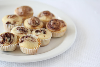 photo of mini muffins on a plate