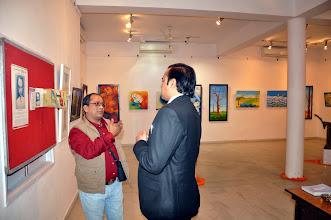Photo: Prashant K. Sarkar with Ranveer Kaushik