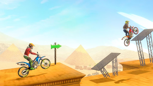 Bike Stunt 2 New Motorcycle Game - New Games 2020 android2mod screenshots 12