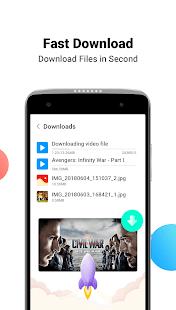 Mini Private Browser: Fast Search, Download, No Ad Screenshot