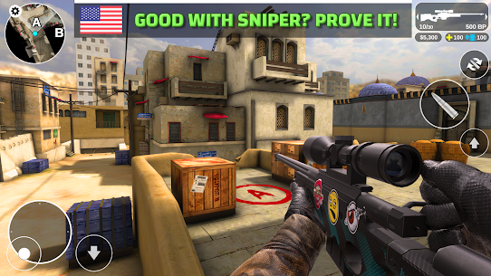 Counter Attack – Multiplayer FPS Mod Apk Download For Android and Iphone 4