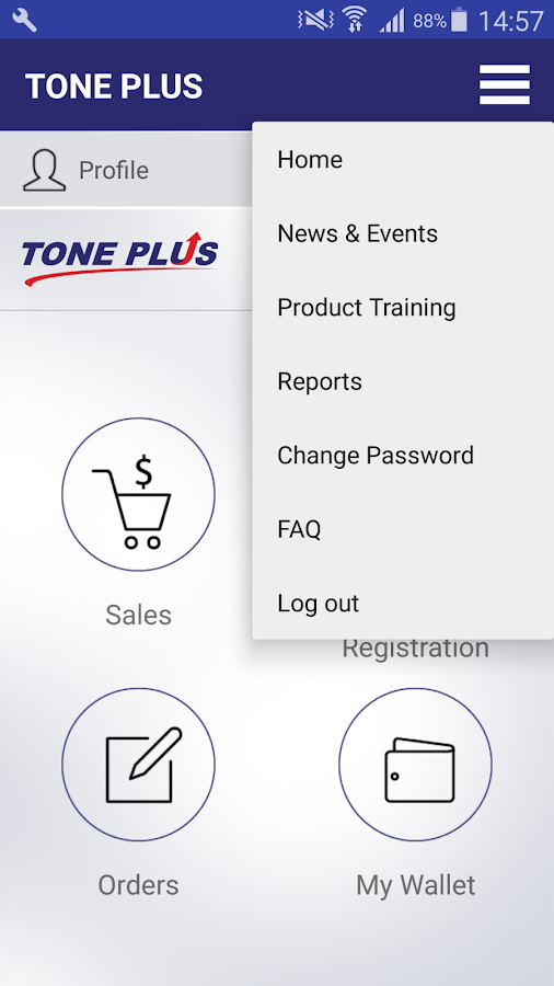 Tone Group- screenshot