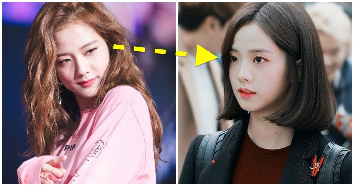 Someone Photoshopped Short Hair On Blackpink S Jisoo And