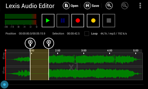 Lexis Audio Editor 1.1.97 Apk for Android 1