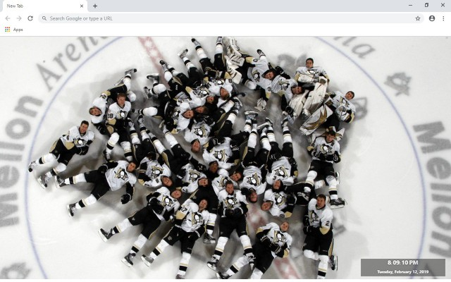 NHL Pittsburgh Penguins New Tab