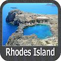Rhodes Island - GPS Navigator icon