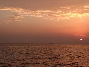 Photo: 美しい朝日が出てきました!