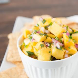 Secret Ingredient Mango Salsa.