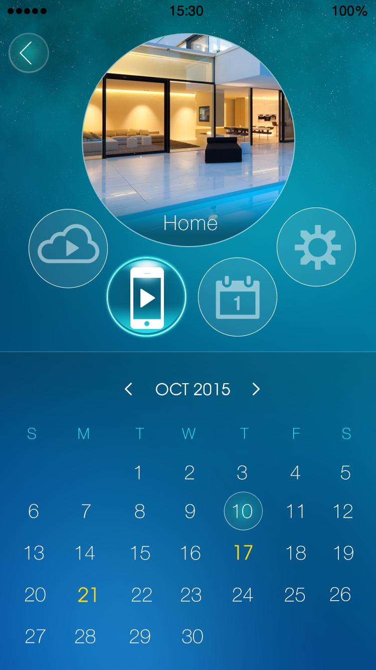 Скриншот mLiveView