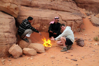 Photo: Wadi Rum  chlodno bylo :)