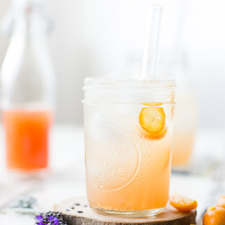 Lavender Kumquat Shrub