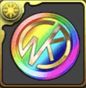 キン肉マンイベントメダル【虹】