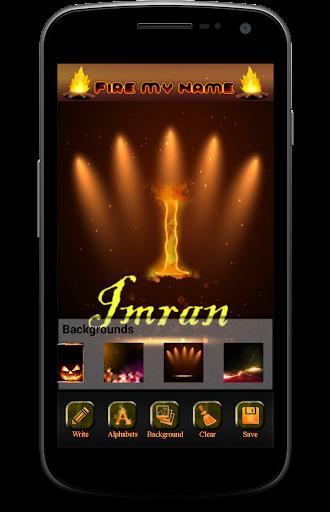 Name Text Fire 1.0.2 screenshots 3