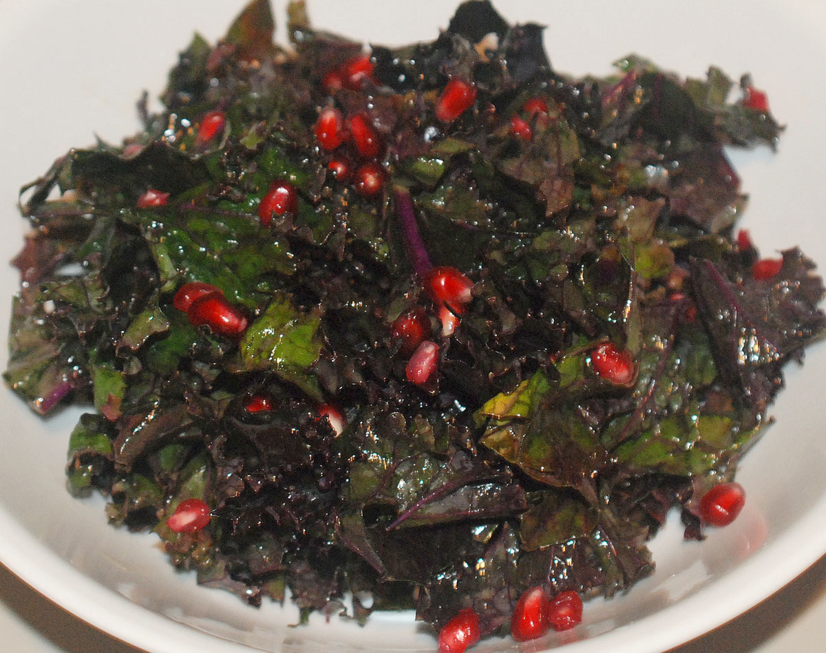 Kale Pomegranate Salad