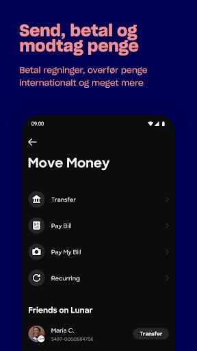 Lunar - Bank app  screenshots 7