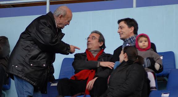 Alain Fontanel en famille, et ici en compagnie de Roland Ries