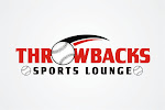Logo for Throwbacks Sports Lounge