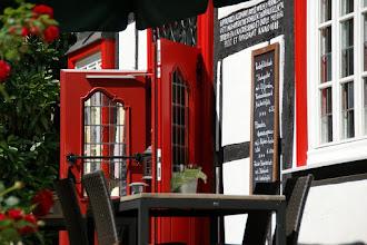 Photo: Rote Tür