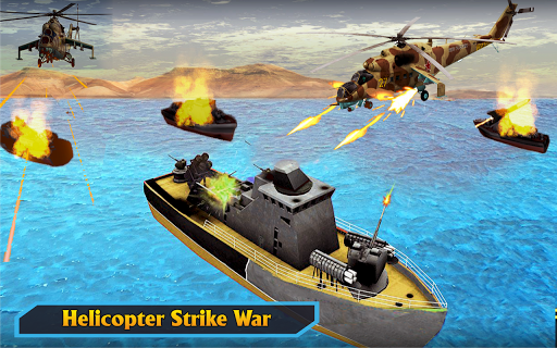 Gunship Helicopter Air War Strike apkdebit screenshots 5