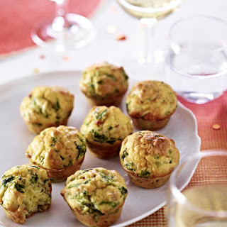 Spinach, Bacon and Cheese Muffins