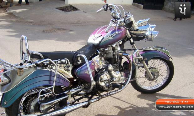 harley looks Bullet Royal Enfield Bullet 350