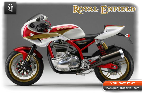 sports bike fast  Bullet Royal Enfield Bullet 350