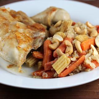 One Dish Teriyaki Chicken and Rice