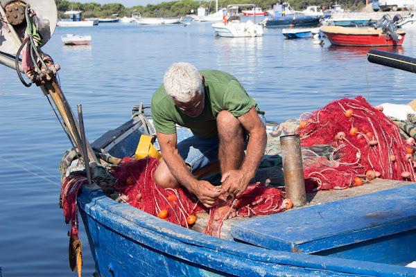 la rete del pescatore di mark