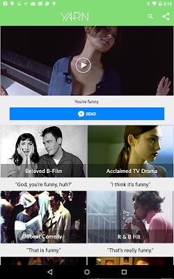 Yarn for Messenger video clips - screenshot