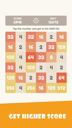 Tap 2048 - worldwide poplar game apkdebit screenshots 4