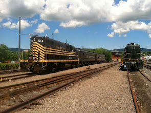 Photo: Steamtown June 2014 This is the train we rode