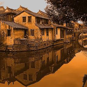 shanghai by Christian Heitz - City,  Street & Park  Historic Districts ( shanghai )