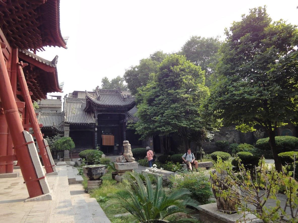 Jardin de la Grande mosquée de Xi'an
