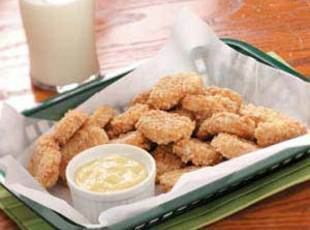 Cookie Nuggets With Butterscotch Dip Recipe