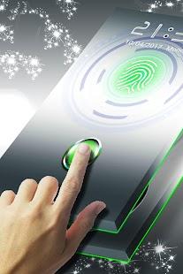 Phone Lock Fingerprints Theme - náhled