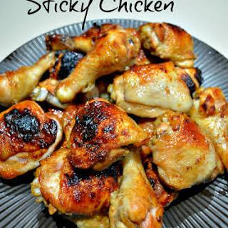 Sticky Chicken.