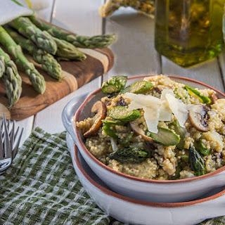 Spring Quinoa with Asparagus and Parmesan Recipe