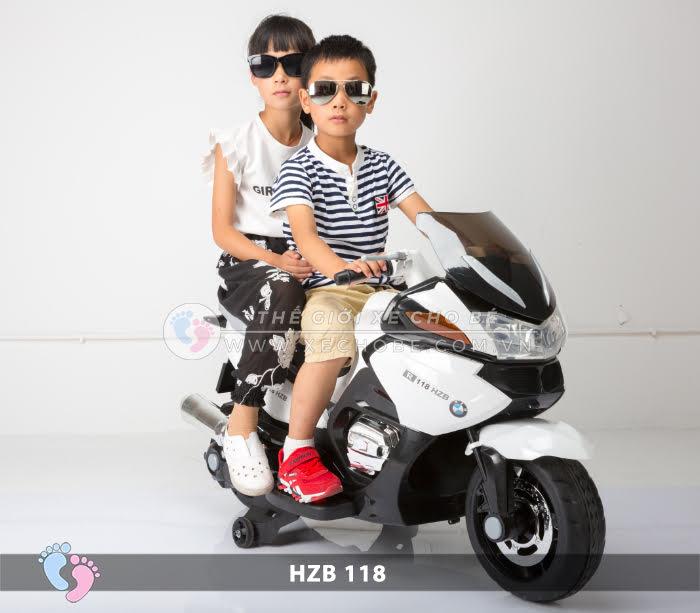 Xe mô tô điện cho bé HZB-118 1