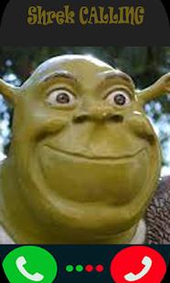 Fake call Shrek - náhled