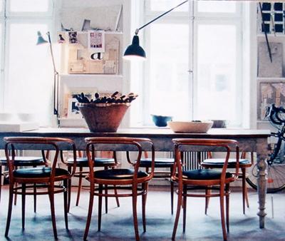 En mi espacio vital muebles recuperados y decoraci n - Comedores estilo vintage ...